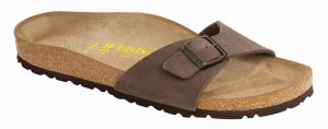 Birkenstock Madrid in Mocca Nubuck (Art: 040091)
